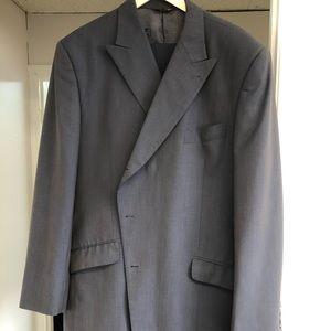 Phat Farm Mens Suit. Blue with stripes